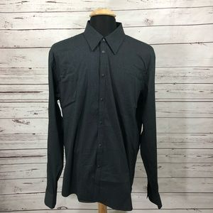Armani Exchange A/X Button Up Shirt Snap Button